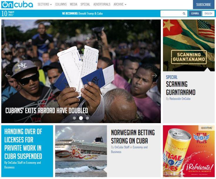 On Cuba